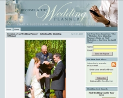 Become a Top Wedding Planner Blog